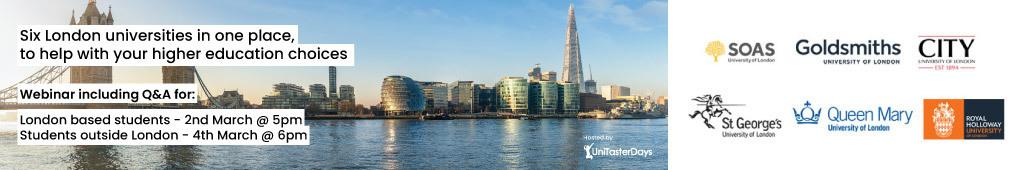 London Roadshow Webainar Banner